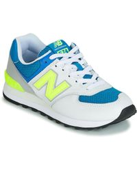 huge discount 04365 6e84a New Balance Ml574txa Men's Shoes (trainers) In White in ...