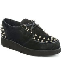 Bronx - Stud Women's Casual Shoes In Black - Lyst