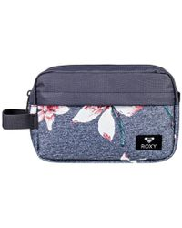Roxy - Beautifully femmes Trousse de toilette en Gris - Lyst