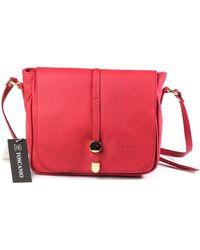 Toscanio - 1612 Men's Shoulder Bag In Red - Lyst