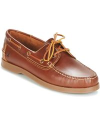 Casual Attitude - Revoro Men's Boat Shoes In Brown - Lyst