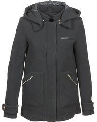 School Rag - Molie Women's Coat In Black - Lyst