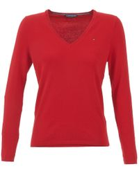 Tommy Hilfiger - New Ivy Women's Sweater In Red - Lyst