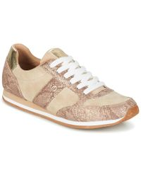 S.oliver - Jabotine Women's Shoes (trainers) In Beige - Lyst