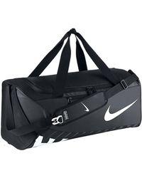 Nike - Alpha Adapt Crossbody Large Women's Sports Bag In White - Lyst