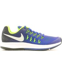 Nike | 834316 Sport Shoes Women Blue Women's Trainers In Blue | Lyst