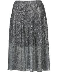 Betty London - Foyeuse Women's Skirt In Silver - Lyst