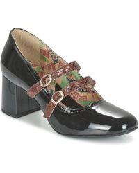 Miss L'Fire | Tess Women's Court Shoes In Black | Lyst