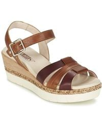 Pikolinos - Madeira W3g Women's Sandals In Brown - Lyst