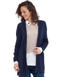 Mado Et Les Autres - Trendy Jacket Ursuline Navy Blue Woman Autumn/winter Collection Women's In Blue - Lyst