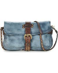 A.S.98 - Linda Women's Shoulder Bag In Blue - Lyst