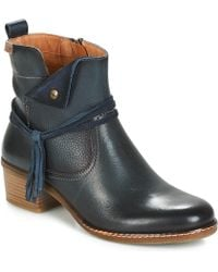 Pikolinos - Zaragoza W9h Women's Low Ankle Boots In Blue - Lyst