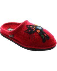 Haflinger - Flair Sassy Women's Slippers In Red - Lyst