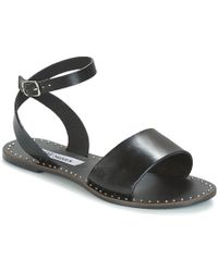 fb24bd490d8 Steve Madden Donddi-s Embellished Sandals in Black - Lyst
