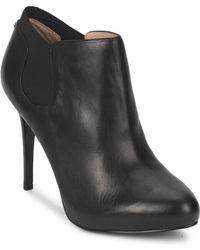 Guess - Helia Women's Low Boots In Black - Lyst