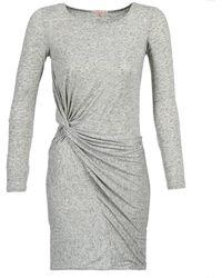 Moony Mood - Feedi Women's Dress In Grey - Lyst