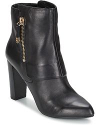 Guess - Ivon Women's Low Ankle Boots In Black - Lyst