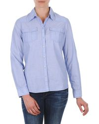 S.oliver - Chemister Manches Lo Shirt - Lyst