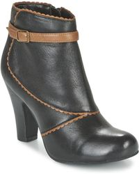Lotus - Morie Women's Low Ankle Boots In Black - Lyst