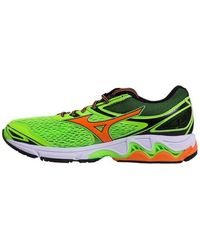 Mizuno - Wave Inspire 13 Men's Shoes (trainers) In Green - Lyst