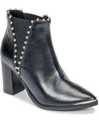 Steve Madden - Himmer Women's Low Ankle Boots In Black - Lyst