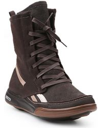 Reebok Easytone Passion 2-j16473 Women's High Boots In Brown