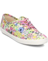 Keds - Ch Lib Floral Women's Shoes (trainers) In White - Lyst