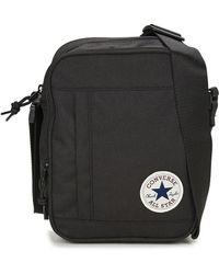 c88aff372d8 Converse Chuck Taylor All Star Messenger Bag in Black for Men - Lyst