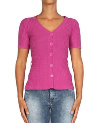 Pepe Jeans - - Women's Cardigan Bula Women's In Pink - Lyst