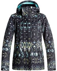 Roxy - Jetty Block Jk Chaqueta Para Nieve, Mujer Women's Parka In Black - Lyst