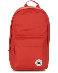 Converse - Core Poly Backpack Men's Backpack In Red - Lyst