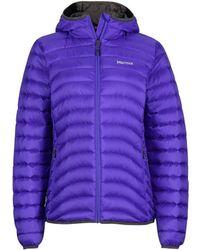 Marmot - Wms Aruna Hoody Women's Jacket In Purple - Lyst