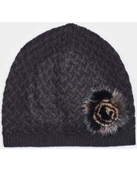 Max & Moi - Hat Hatmink Black Woman Autumn/winter Collection Women's Beanie In Black - Lyst