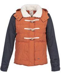 Billabong | Five Island Women's Jacket In Brown | Lyst