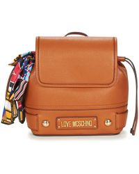 Love Moschino - Jc4037pp17 Women's Backpack In Brown - Lyst