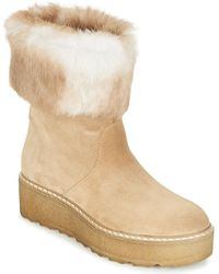 Tamaris Alyx Women's Mid Boots In Beige in Natural Lyst
