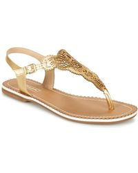 Dune - Lill Women's Sandals In Gold - Lyst