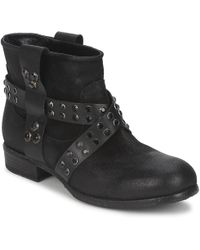 Strategia - Lumese Women's Mid Boots In Black - Lyst