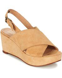 Casual Attitude - Getene Women's Sandals In Beige - Lyst