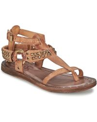 A.S.98 - Rame Women's Sandals In Brown - Lyst