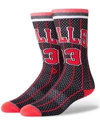 Stance - Chaussettes NBA Legends Chicago Bulls 96 Noir hommes Chaussettes en Autres - Lyst