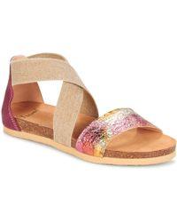 Think! - Traduk Women's Sandals In Pink - Lyst