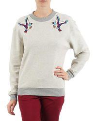 ELEVEN PARIS - Teaven Women Women's Sweatshirt In Grey - Lyst