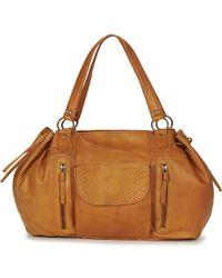 Pieces - Jihano Women's Shopper Bag In Brown - Lyst