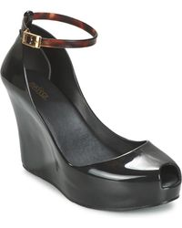 Melissa - Patchuli X Women's Court Shoes In Black - Lyst