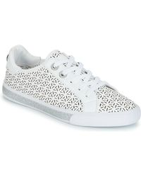 Guess - Meggie 6 Women's Shoes (trainers) In White - Lyst