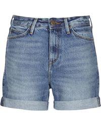 Lee Jeans | Boyfriend Short Women's Shorts In Blue | Lyst