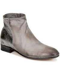 NDC - Silvia Women's Mid Boots In Grey - Lyst
