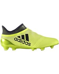 online store ea571 2f5f9 adidas - X 17 Purespeed Fg Mens Football Boots In Yellow - Lyst