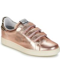 Serafini - J Connor Women's Shoes (trainers) In Gold - Lyst